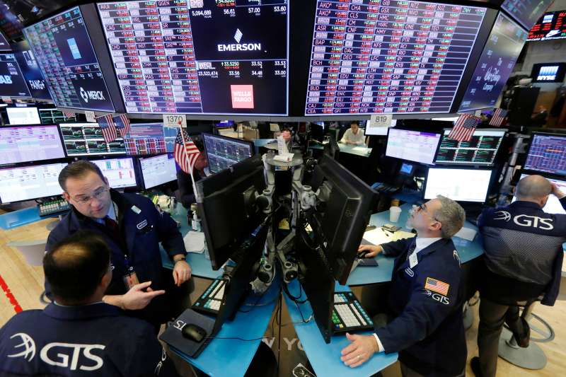 Trader floor at the New York Stock Market