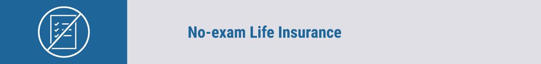 No-exam Life Insurance title tag