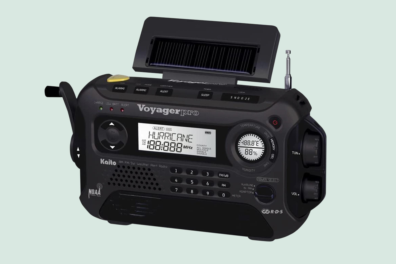 Kaito Voyager Pro KA600 Digital Solar Dynamo