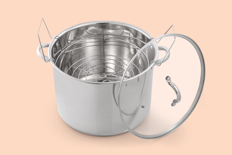 McSunley Medium Stainless Steel Prep N Cook Water Bath Canner