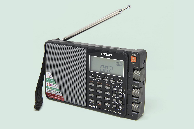 Tecsun PL880 Portable Digital PLL Dual Conversion