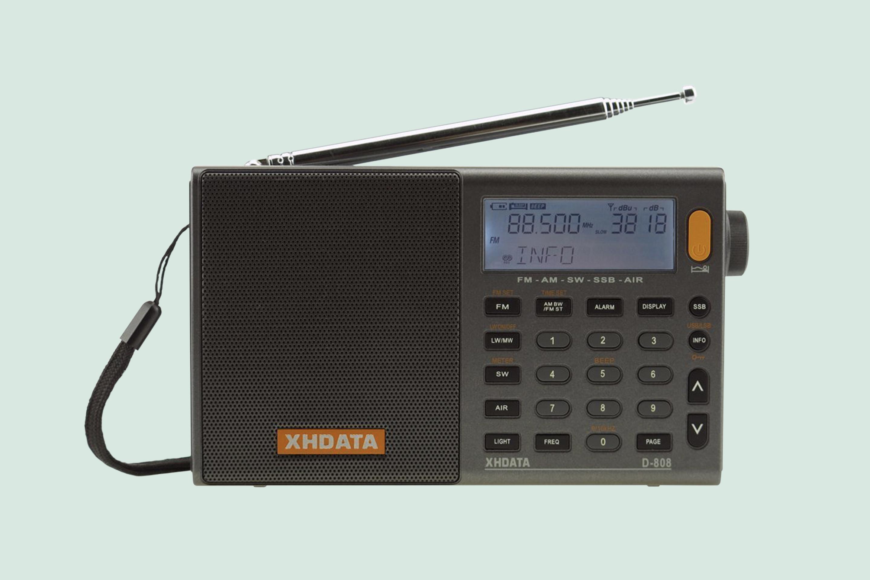 XHDATA D 808 Portable Digital Radio
