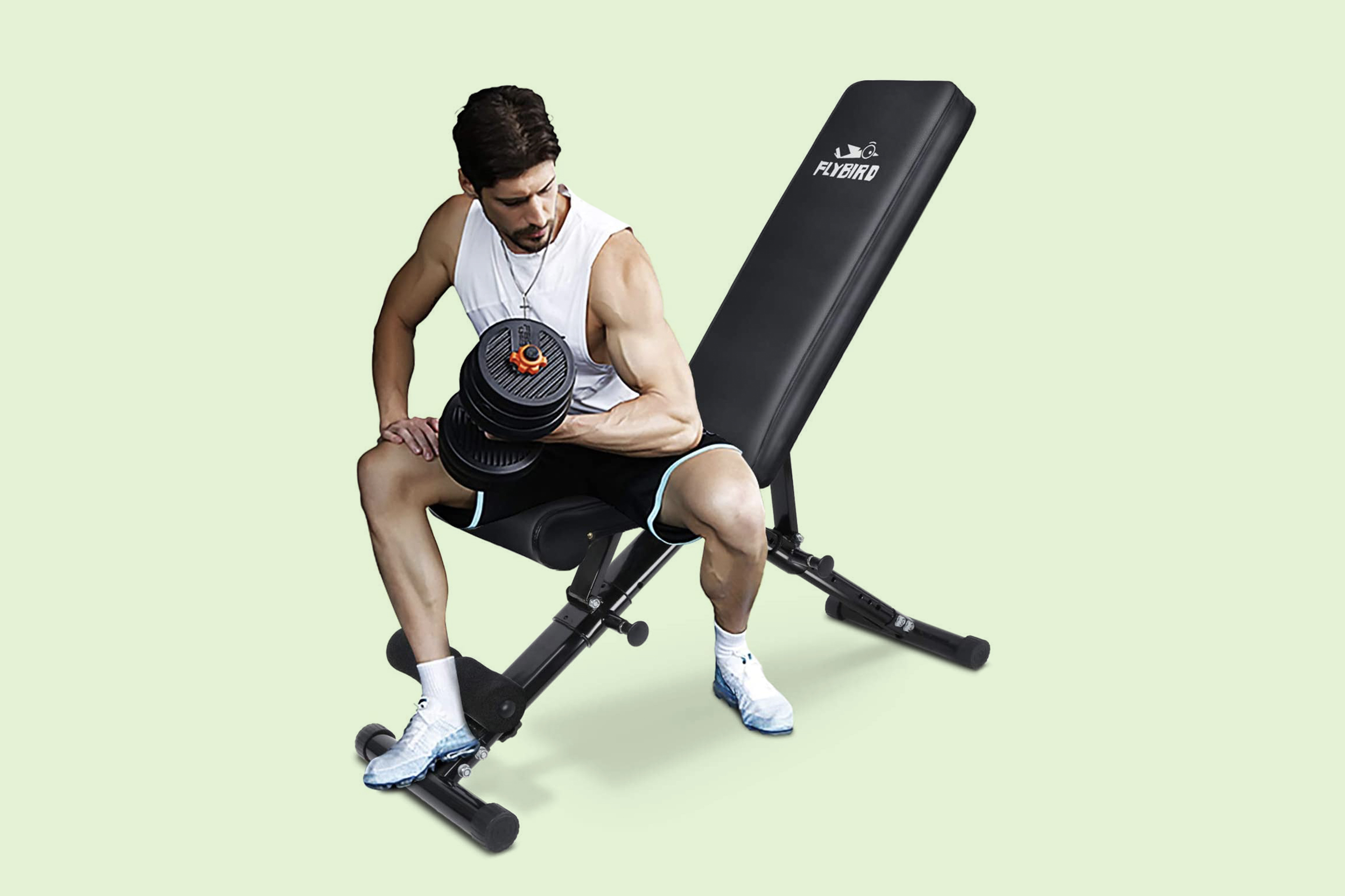Flybird Adjustable Workout Bench FB149
