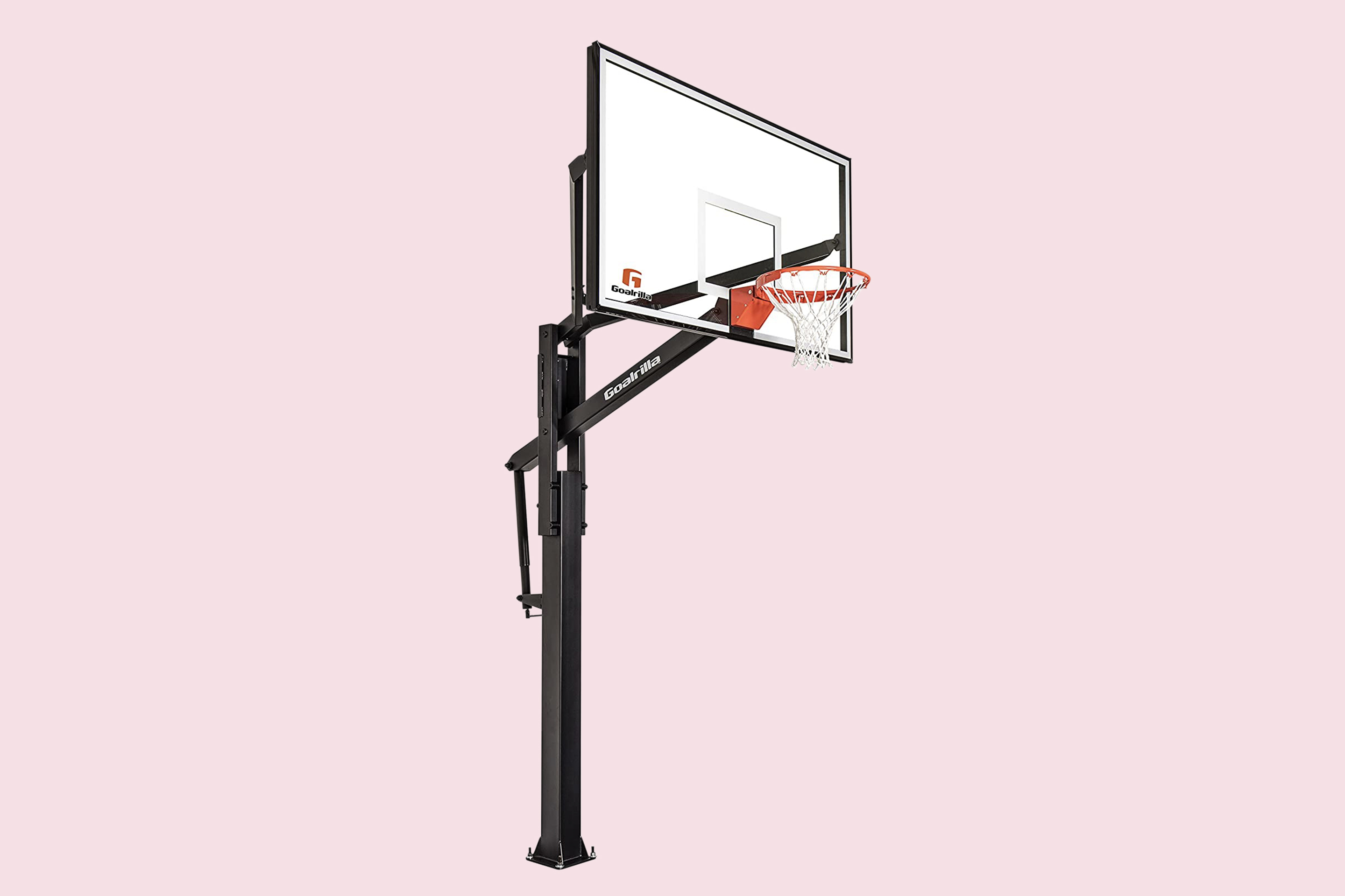 Goalrilla FT Series Basketball Hoops with Tempered Glass Backboard
