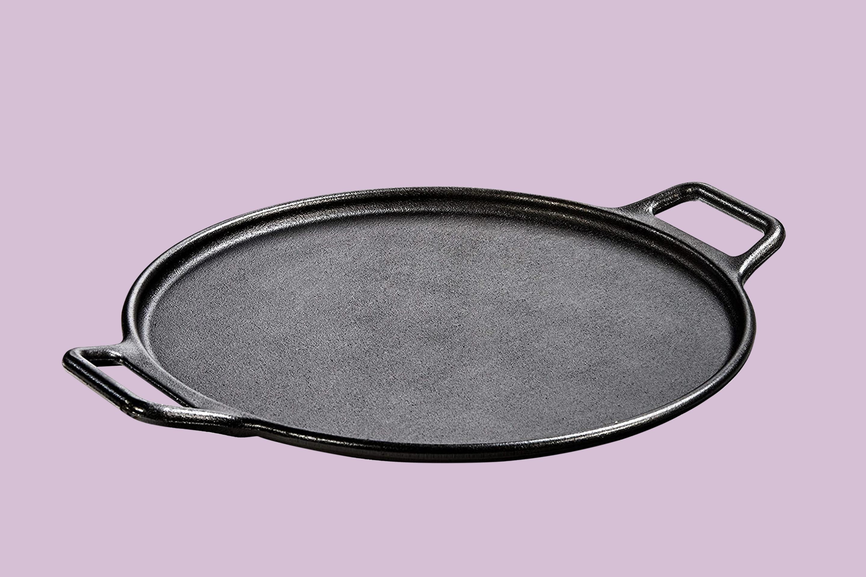 Lodge Pre Seasoned Cast Iron Baking Pan With Loop Handles 14