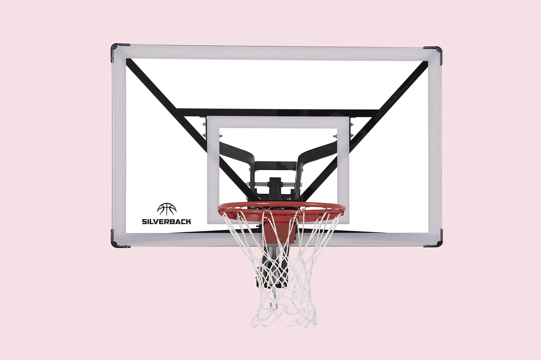 Silverback NXT-54 Wall Mounted Adjustable Height Basketball Hoop