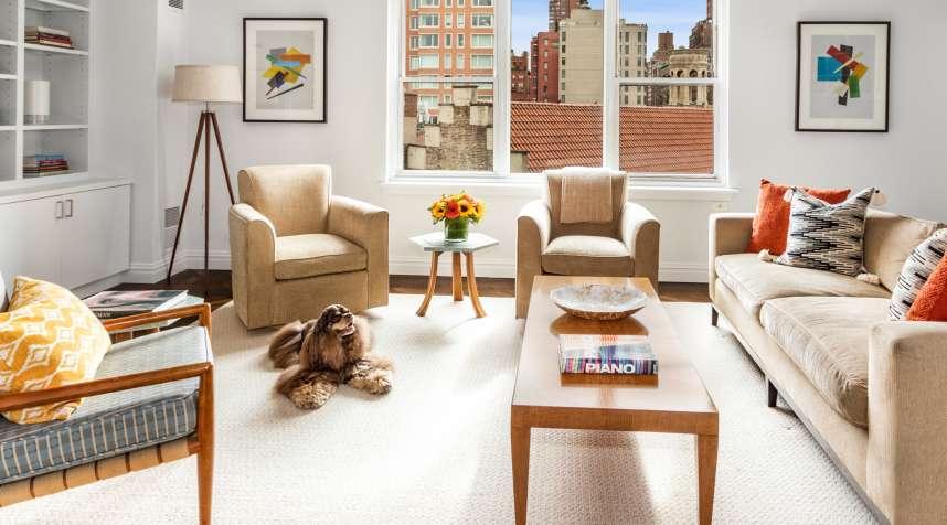 Namaste sealed the deal on a $1.875 million Manhattan apartment.