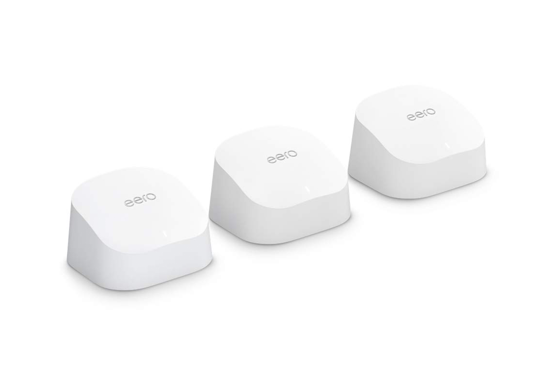 Amazon eero 6 dual band mesh Wi-Fi 6 system