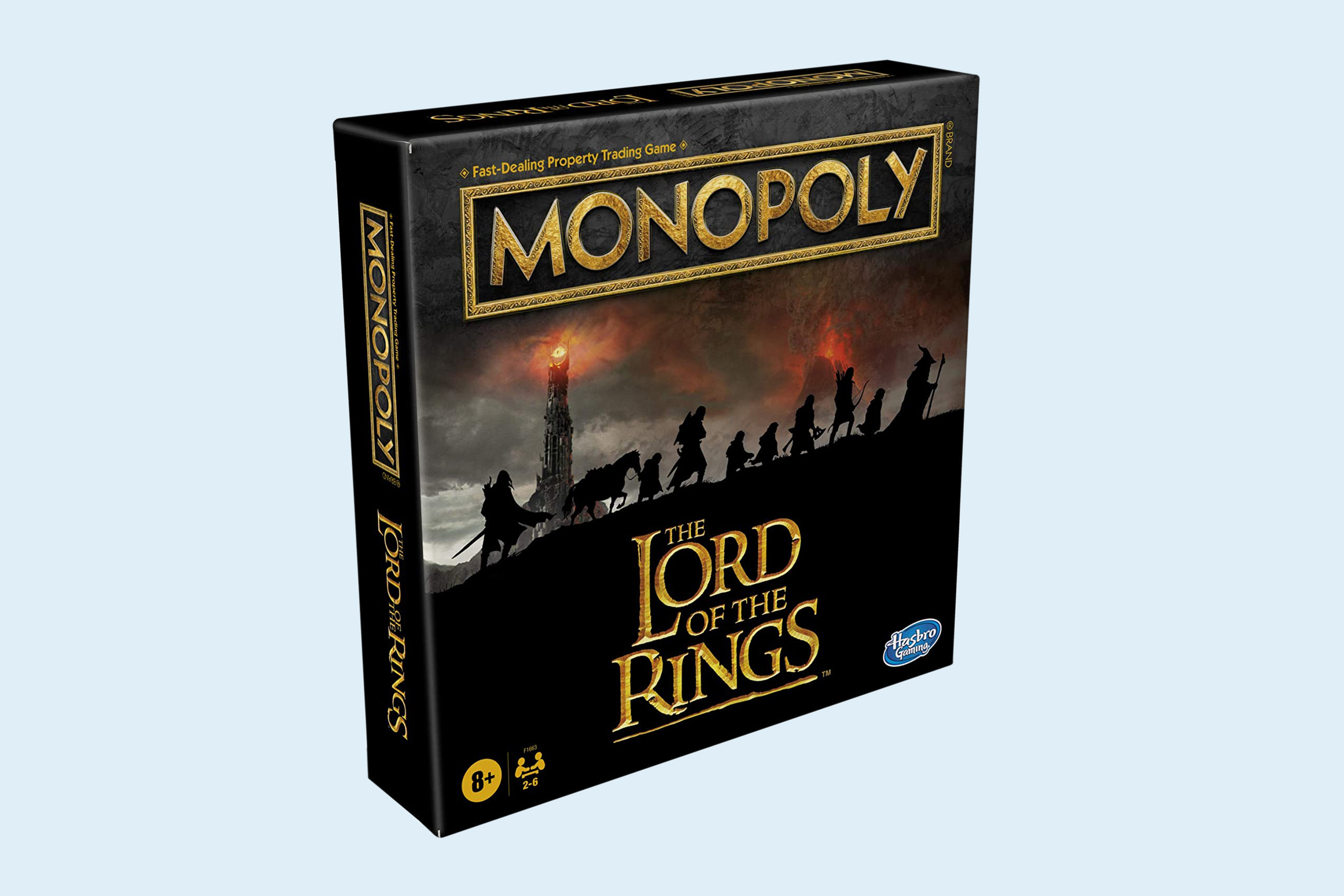 Monopoly The Lord of The Rings Edition Board Game