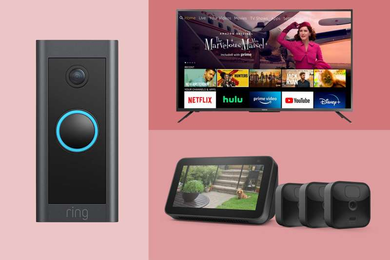 Prime day Deals A Toshiba Tv, a Doorbell and Blink Outdoor Camera