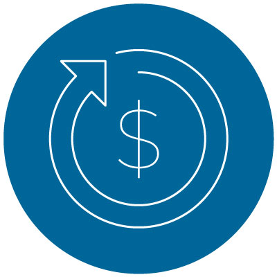 student loans repayment option icon