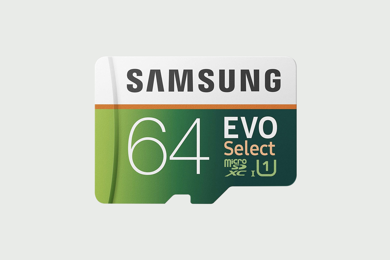 SAMSUNG EVO Select 64GB microSDXC 100MB