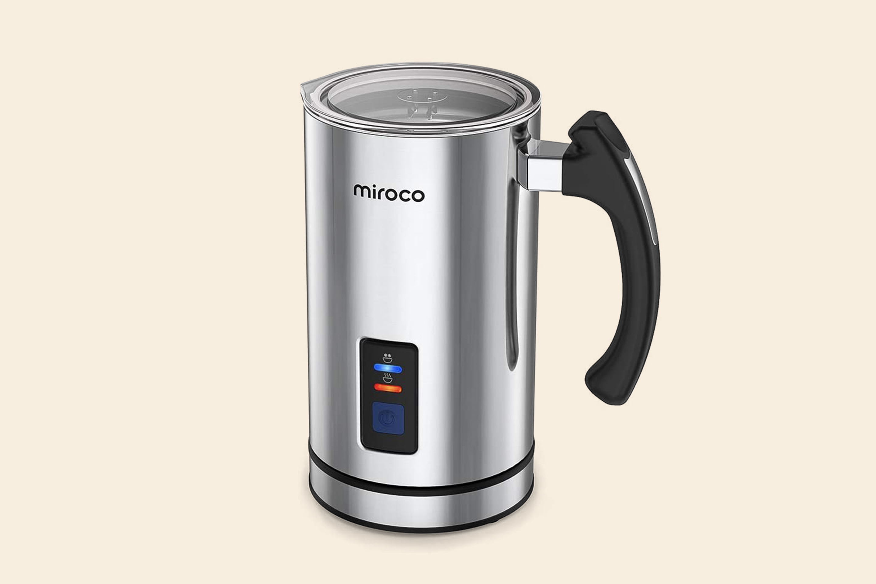 Miroco Stainless Steel Electric Milk Frother